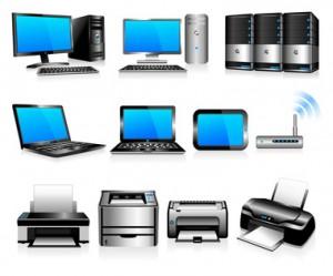 ordinateur et peripherique